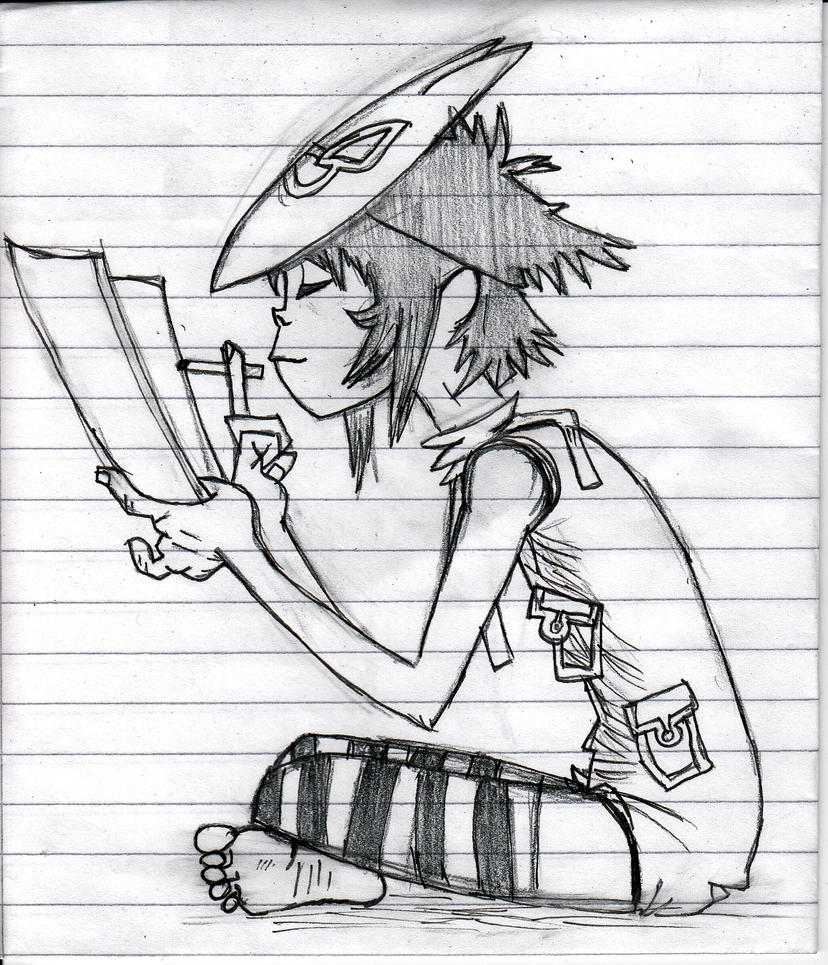 Noodle sketch by Monininicka