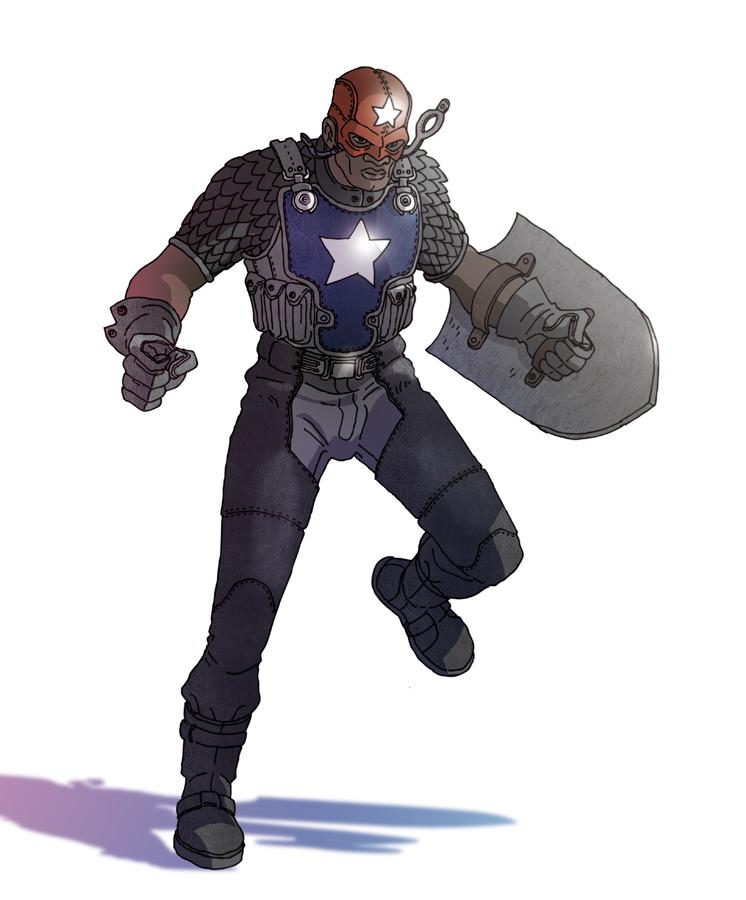 PR: Captain America ver2 by Incognegro65