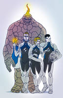Project Rooftop: Fantastic Four by Incognegro65