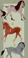 Horse Adopts 3/3 Open