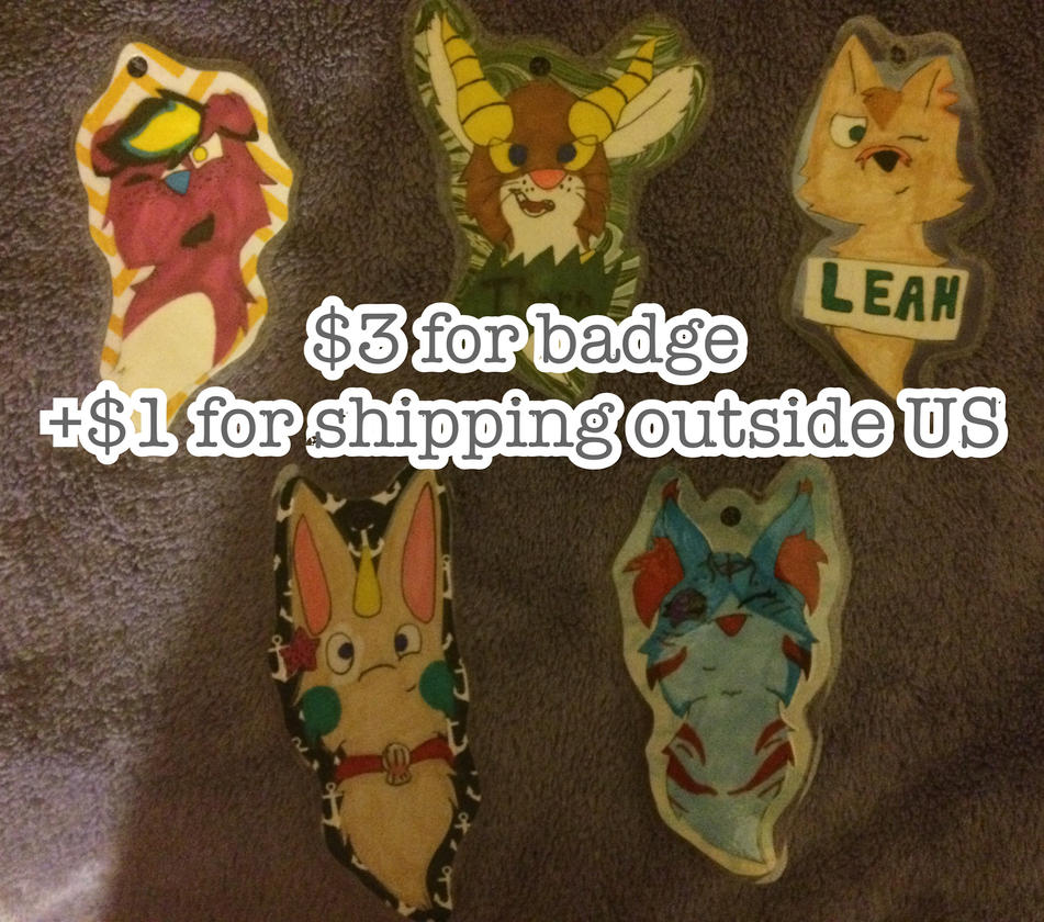 Badge Commissions, Trying to sell 100 by Koho2001-2