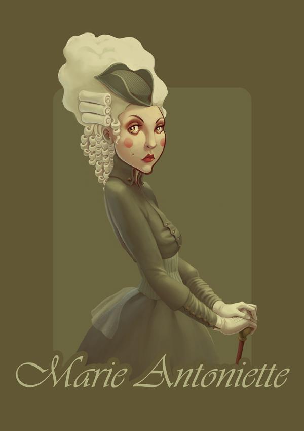 Marie Antoinette by novac
