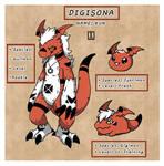 [Refsheet] Digisona - Kun by IchitariMachito