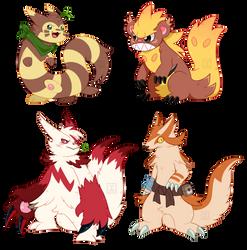 [OCs] Pokemon Team