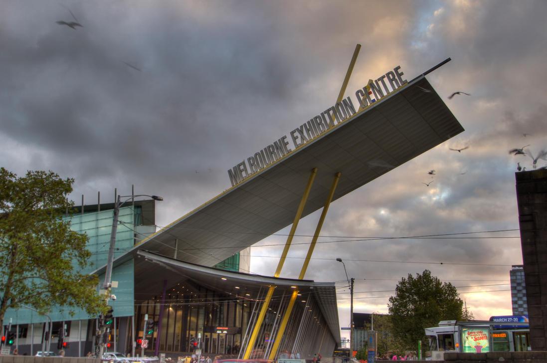 D Exhibition Melbourne : Melbourne exhibition center hdr by badcam on deviantart