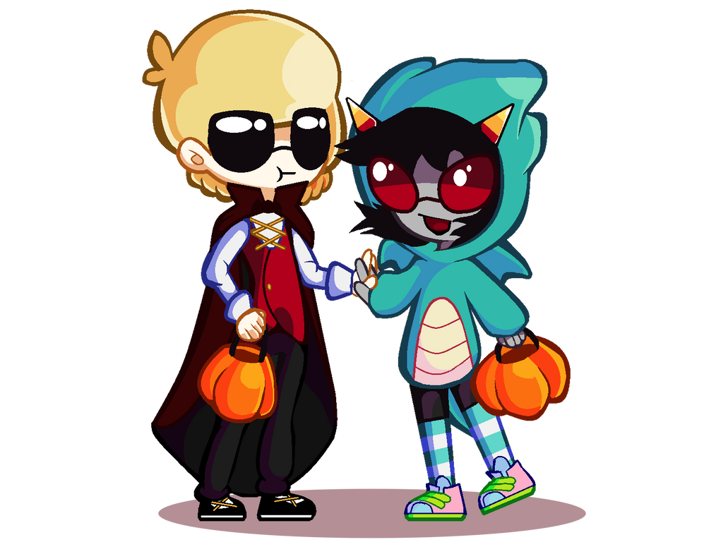 HHALLOWEN by clockworkbandits