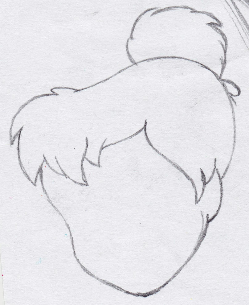 tinkerbell head coloring pages - photo#14