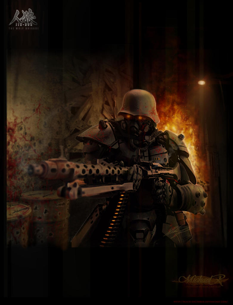 Jin Roh Kerberos Panzer Cop by Trezykx