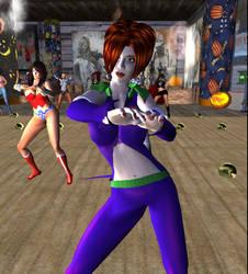 My SL Avatar as Duela Dent 2