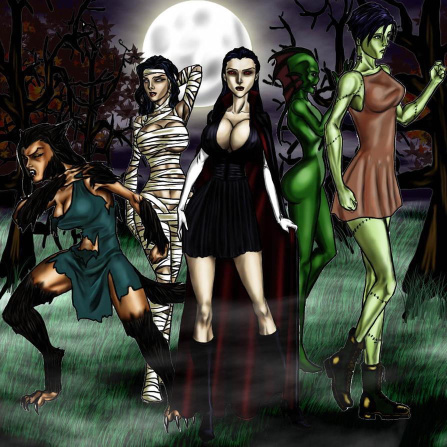 Monster female xxx scene