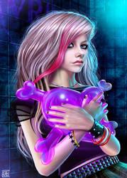 Avril Lavigne by Ferlancer