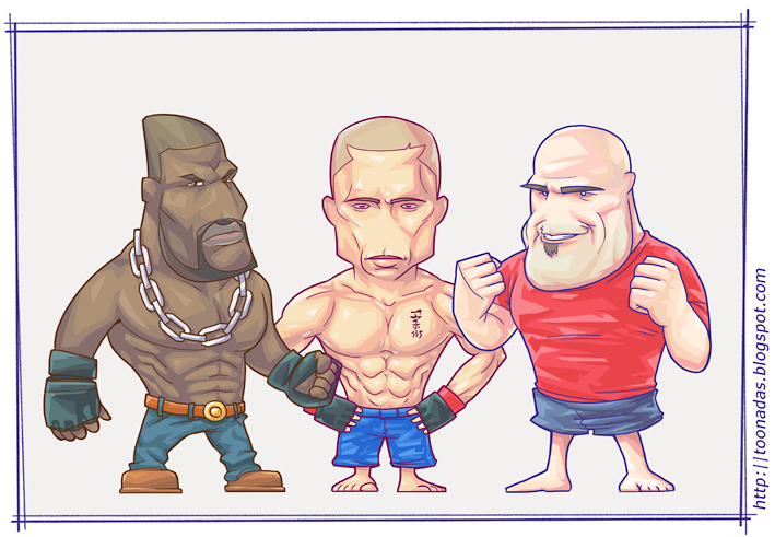 UFC Fighters by Ferlancer
