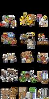 Mesas extra para RPG maker XP