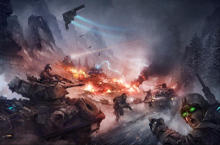 Defense Zone 2 Cover Art by Dabana