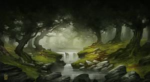 The Forest of Gorfiriand by Dabana
