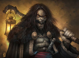 Kullr the spectre from the Black Swamp by Dabana