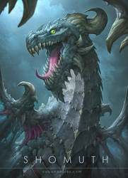 Shomuth the dragon by Dabana