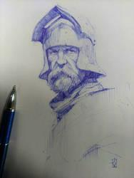 Sketch ballpen by Dabana