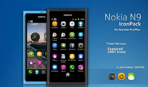 THe Nokia N9 IconPack for Launcher Pro