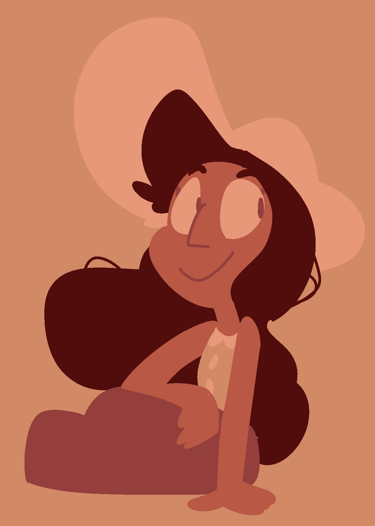 A lil connie i did for the palette challenge thingy 8)