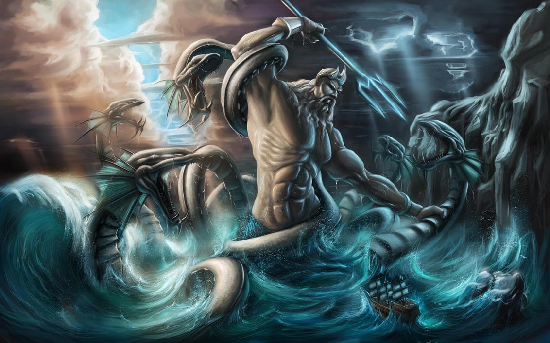 Poseidon By Jinjorz On Deviantart