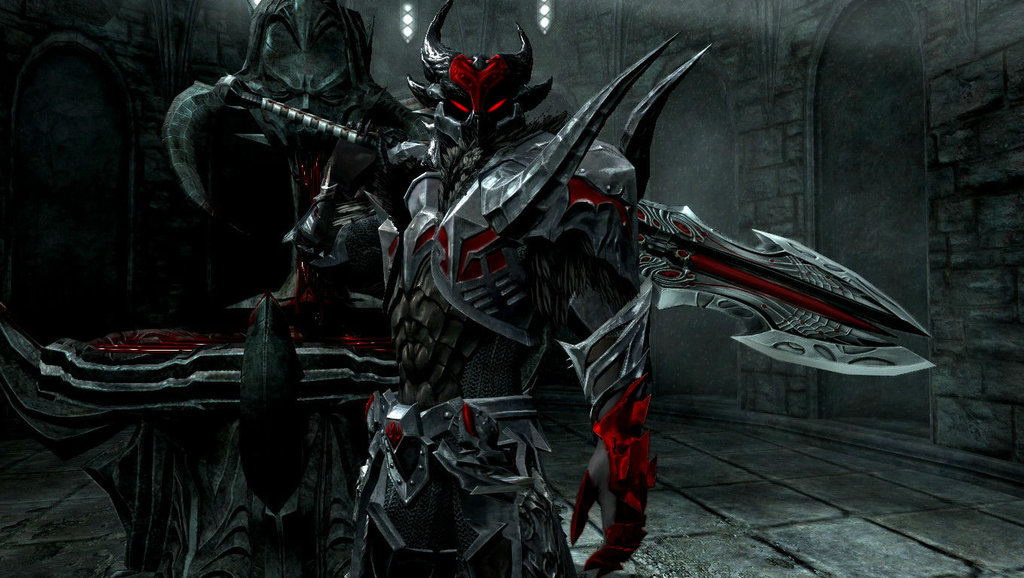 Corrupted Dragonknight Dorahk Bloodlust OC File  by
