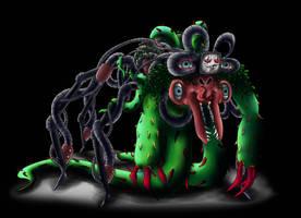 Omega Spider Flowey by Justsomefandomfan