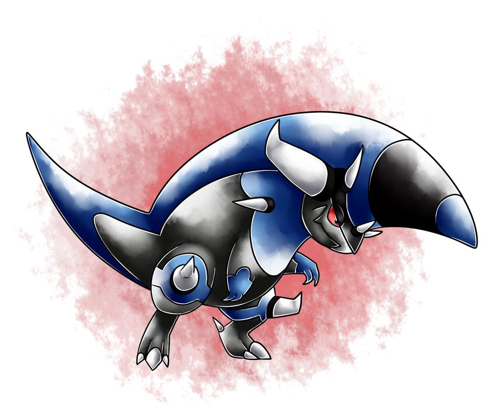 Mega Rampardos by Justsomefandomfan