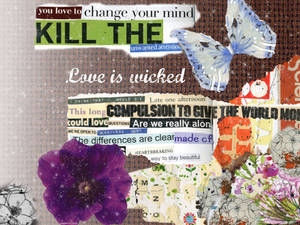 Wallpaper-Love is wicked game