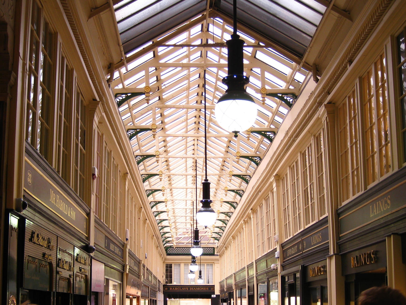 A Jeweler-only Mall in Glasgow