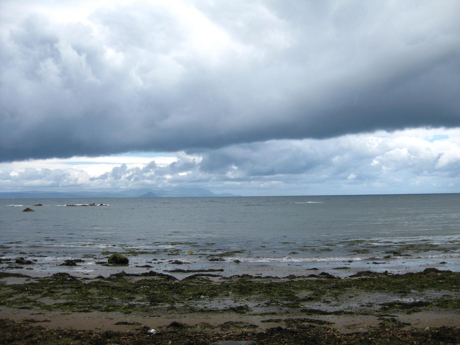 Scottish Sea at Culzean Castle