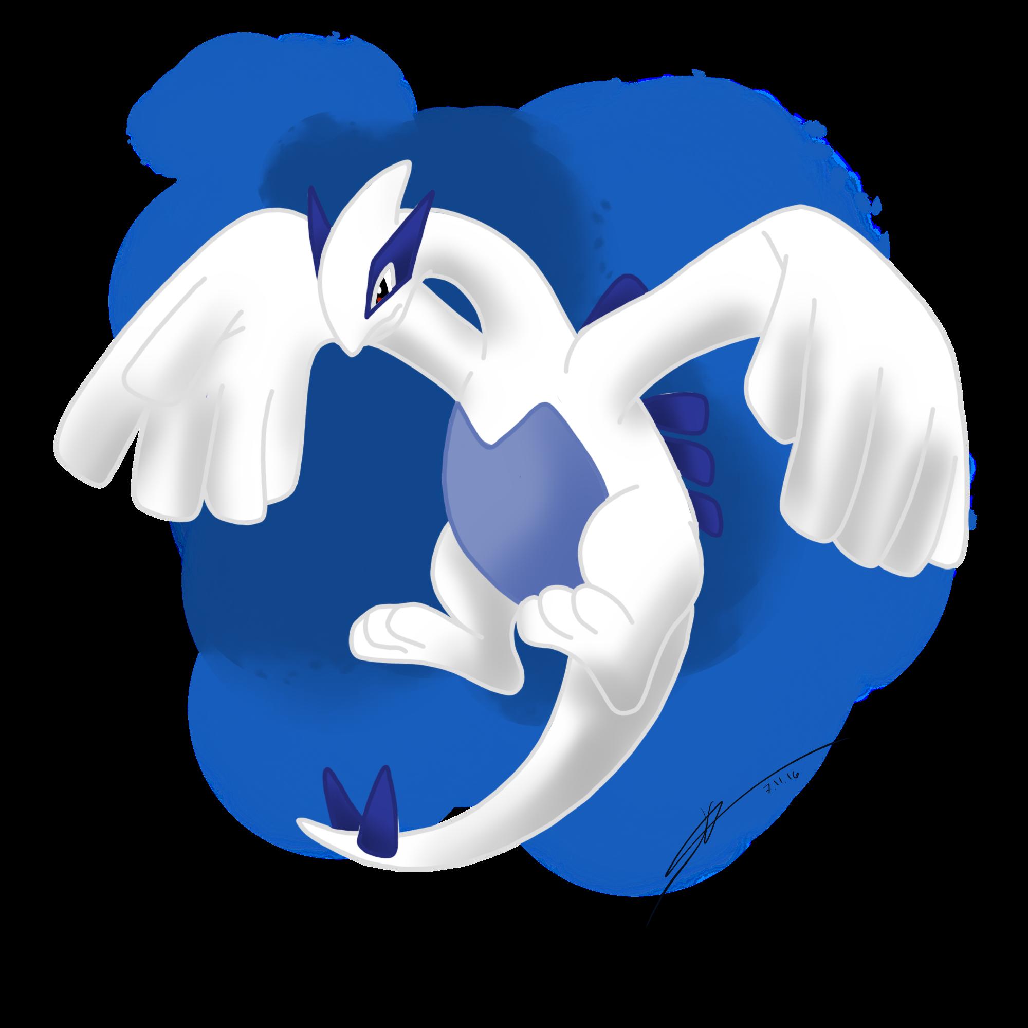 Lugia the legendary silver pokemon favourites by mcsaurus - Pokemon argent pokemon rare ...