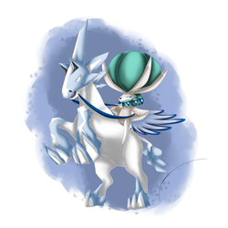 Calyrex ( Ice Rider Form )