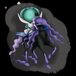 Calyrex ( Shadow Rider Form )
