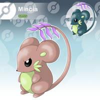 Mincia - The Tiny Mouse Fakemon