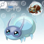 Ticling - The Tiny Spider Fakemon
