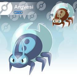 Argvesi - The Water Bubble Fakemon