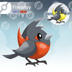 Flamityy - The Tiny Bird Fakemon