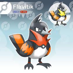Flavitik - The Messenger Fakemon