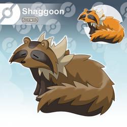 Shaggoon - The Fluffy Fakemon