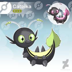 Cateika - The Spiky Bug Fakemon