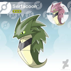 Serfacoon - The Cocoon Fakemon