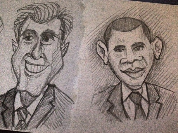 Obama/Romney by Ambair