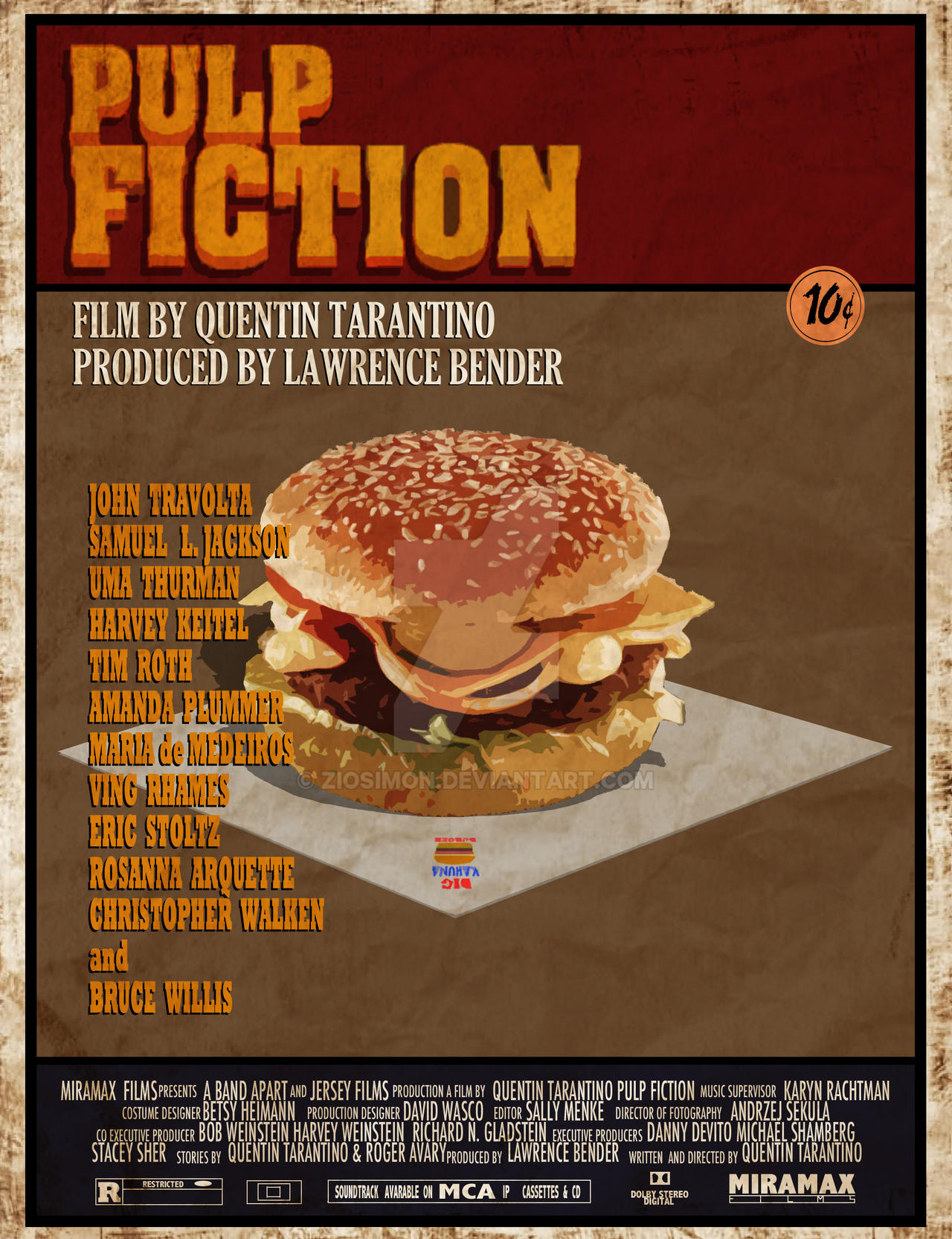 MOVIE FOOD - PULP FICTION by ziosimon