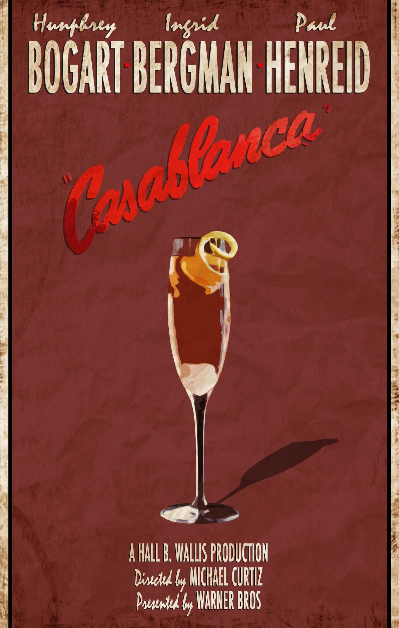 MOVIE DRINK - CASABLANCA by ziosimon on deviantART