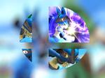 Lucario Smash Ball Wallpaper - Super Smash Bros.