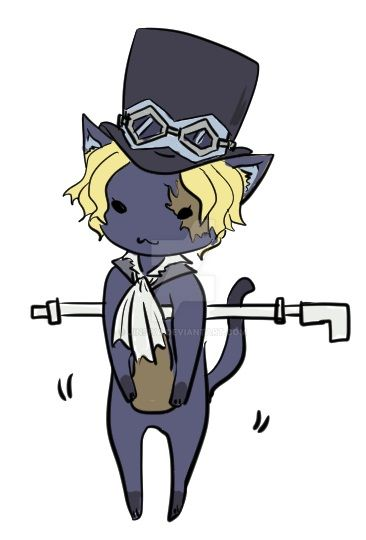 Sabo Cat by Jinsiya