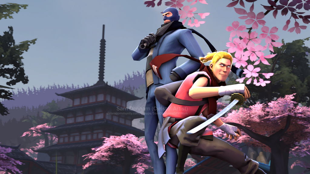 Cool Ninjas by Cyristal-Artist