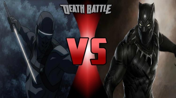 Snake Eyes vs. Black Panther by MetalHarbinger084