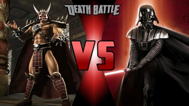 Shao Kahn vs. Darth Vader by MetalHarbinger084